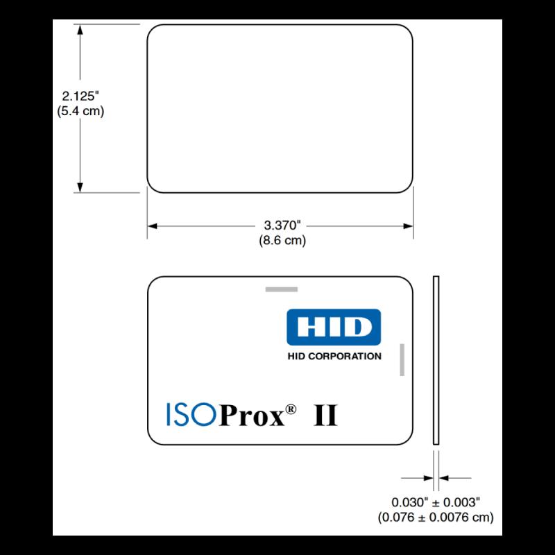Tarjeta de acceso y asistencia por proximidad ISOProx II | Sistemas SIntel