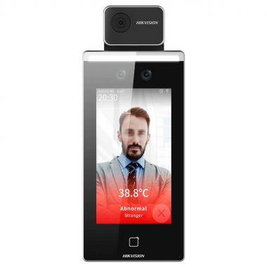 Biométrico para Acceso y Asistencia con Reconocimiento Facial y medición de temperatura | Sintel