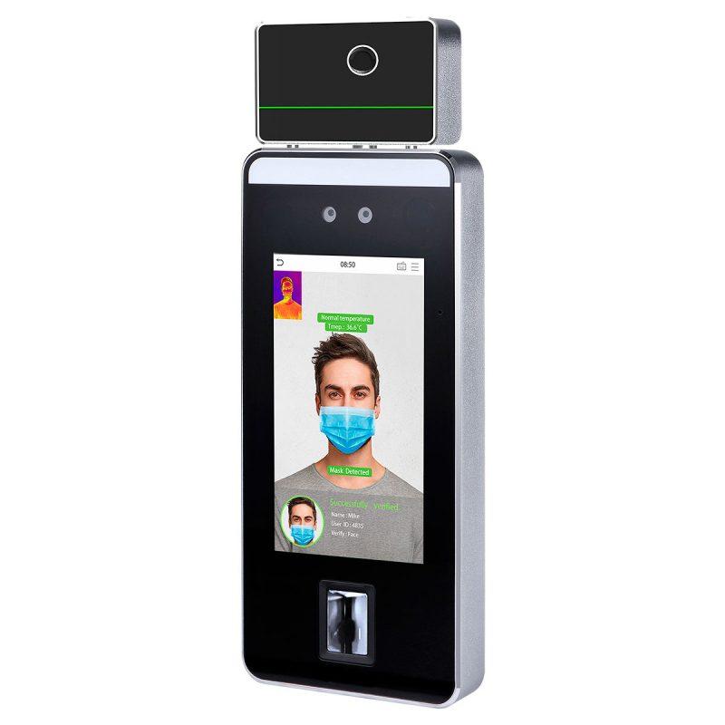 SpeedFaceV5LTI es una versión para el reconocimiento biométrico sin contacto con control de temperatura | Sistemas Sintel